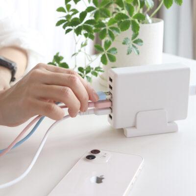 【多ポートAC充電器を持つメリット】5~6つ同時充電できるおすすめAC充電器(アダプタ)紹介